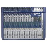 Mesa De Som Soundcraft Signature 22 Bivolt Mixer 22 Canais