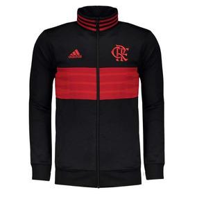Jaqueta Do Flamengo Flat Adulto Masculinos Adidas - Casacos no ... 1ab9d466ab1f2