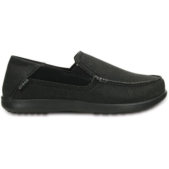 Crocs Originales Santa Cruz 2 Luxe Black Hombre