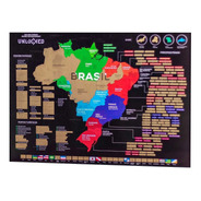 Mapa Do Brasil De Raspar Unlocked Sem Moldura