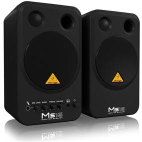 Behringer Ms 16 Monitores De Estudio Multimedia Nuevo Oferta