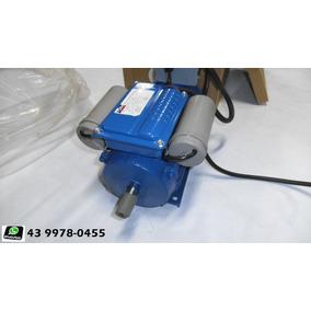 (motofreio) Motor Elétrico Bifásico Com Freio 1 Cv.