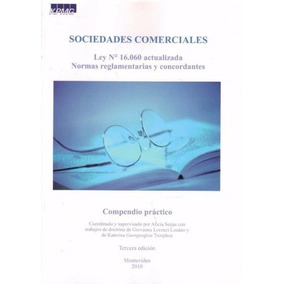 Sociedades Comerciales. Ley N. 16060 Actualizada