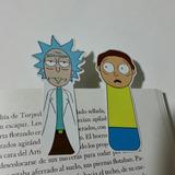 Rick Y Morty Separadores Magneticos Para Libros