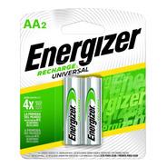 Blister 2 Pilas Recargables Energizer Aa 2000mah 1000x Nh15 - Importadora Fotografica - Distribuidor Oficial Energizer
