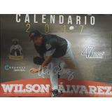 Calendario De Colección 2017 De Wilson Álvarez