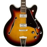 Guitarra Eléctrica Fender Coronado De Media Caja - Colores