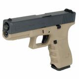 Pistola Airsoft Glock G17 Bitono We 6mm Green Gas Blowback