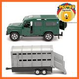 Teamsterz Camioneta 4x4 Con Remolque Nuevo!! Auto