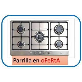Parrilla Estufa Teka Italiana Como Nueva 5 Quemadores Cocina