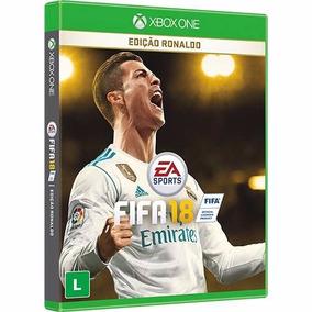Fifa 18 Xbox One Edição Ronaldo Novo Lacrado Midia Fisica