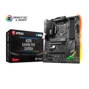 Placa Madre Msi H370 Gaming Pro Carbon 8va Gen Intel Lga1151
