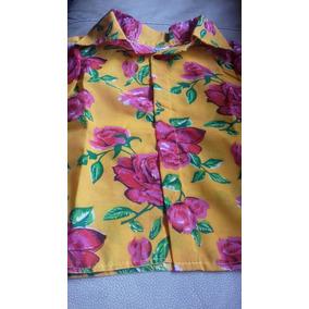 Camisa Para Niño Hawaiana Tallas 4 6 Y 8