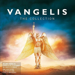 Cd Vangelis The Collection 2cd Open Music W-
