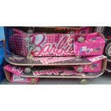 Skate Barbie Teen Lancamento Pronta Entrega