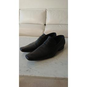 Zapatos Zara. Impecables. Talle 43. Cuero Negro.