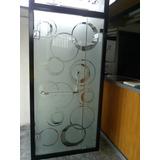 Puertas De Baño - Servicio De Esmerilado Y Diseños