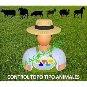 Software Control Ganadero Búfalos Caprino Porcino Ovino Equi