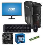 Equipo Core I3 7100 4gb 1tb Disco Monitor 19
