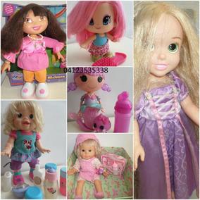 Muñecas Para Niñas Varias Dora Rapunzel Bebé