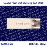 Memoria Usb Samsung Bar 64gb Usb 3.0 - 5gb/s