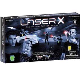 Jogo De Combate Arma Laser X Dupla Blaster Com Colete- Sunny