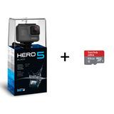 Gopro Hero 5 Black Y Microsd 64gb