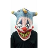 Máscara Látex Halloween Palhaço Bobo Da Corte