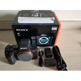 Câmera Sony A7ii Full Frame A72 15dias De Uso 5mil Cliques