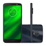 Celular Motorola Moto G6 Plus Xt1926-8 4gb 64gb Indigo D