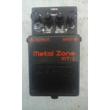 Pedal Efecto Guitarra Boss Metal Zone