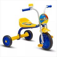 Triciclo Infantil You Boy Amarelo E Azul - Nathor