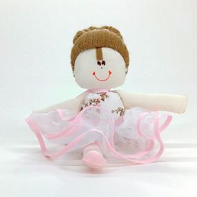 Boneca De Pano Bailarina Pequena