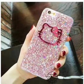 Funda Para Iphone 5 5s Hello Kitty Shine Rosa