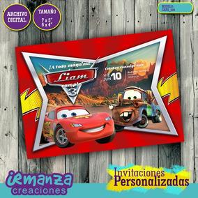 Cars - Invitaciones Digitales Personalizadas