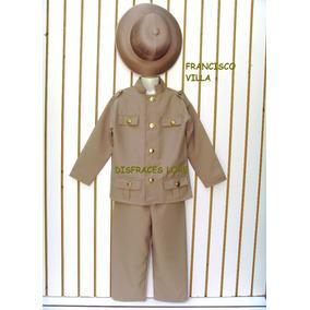 Disfraz Francisco Villa Revolucionario Con Sombrero Niños