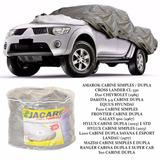 Capa Para Cobrir Carro Jacaré F1000 Cs D20 Antiga L200 Cd