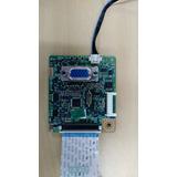 Placa Lógica Monitor Samsung B1630n Com Cabos