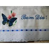 Toalha De Banho Aveludada Dohler Bordada A Máquina R$ 55,00