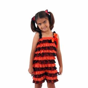 Jumper Short Ropa Niña Disfraz Halloween Envio Gratis