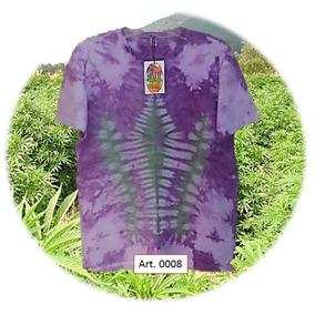 Foxtay Art. 0008 Remera Unisex T. 3 Diseño Tie Dye Batik