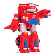 Super Wings Jett Transformador Super Robo 83416 Fun
