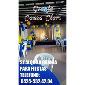 Alquiler De Granja Para Fiestas En Barquisimeto Estado Lara