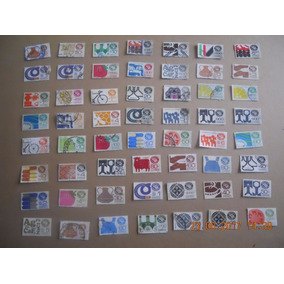 Lote De Estampillas Postales Mexico Exporta.
