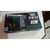 Airsoft Pistola Beretta M9 Kjw A Gas Co2