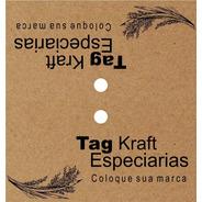 Tag Solapa Personalizada Para Embalagens Plásticas 150 Peças