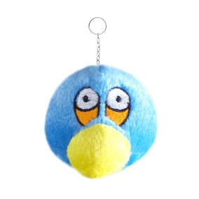 Chaveiro Angry Bird De Pelúcia Musical