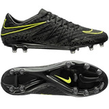 Botines Nike Hypervenon Phinish Fg Black Gama Alta
