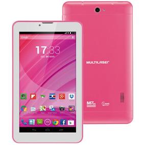 Tablet Multilaser M7 Com Função Celular Nb225 - Quad Core