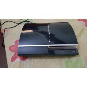 Playstation 3 Fat 40g Co 3 Bips Liga E Desliga Leia Em Obs